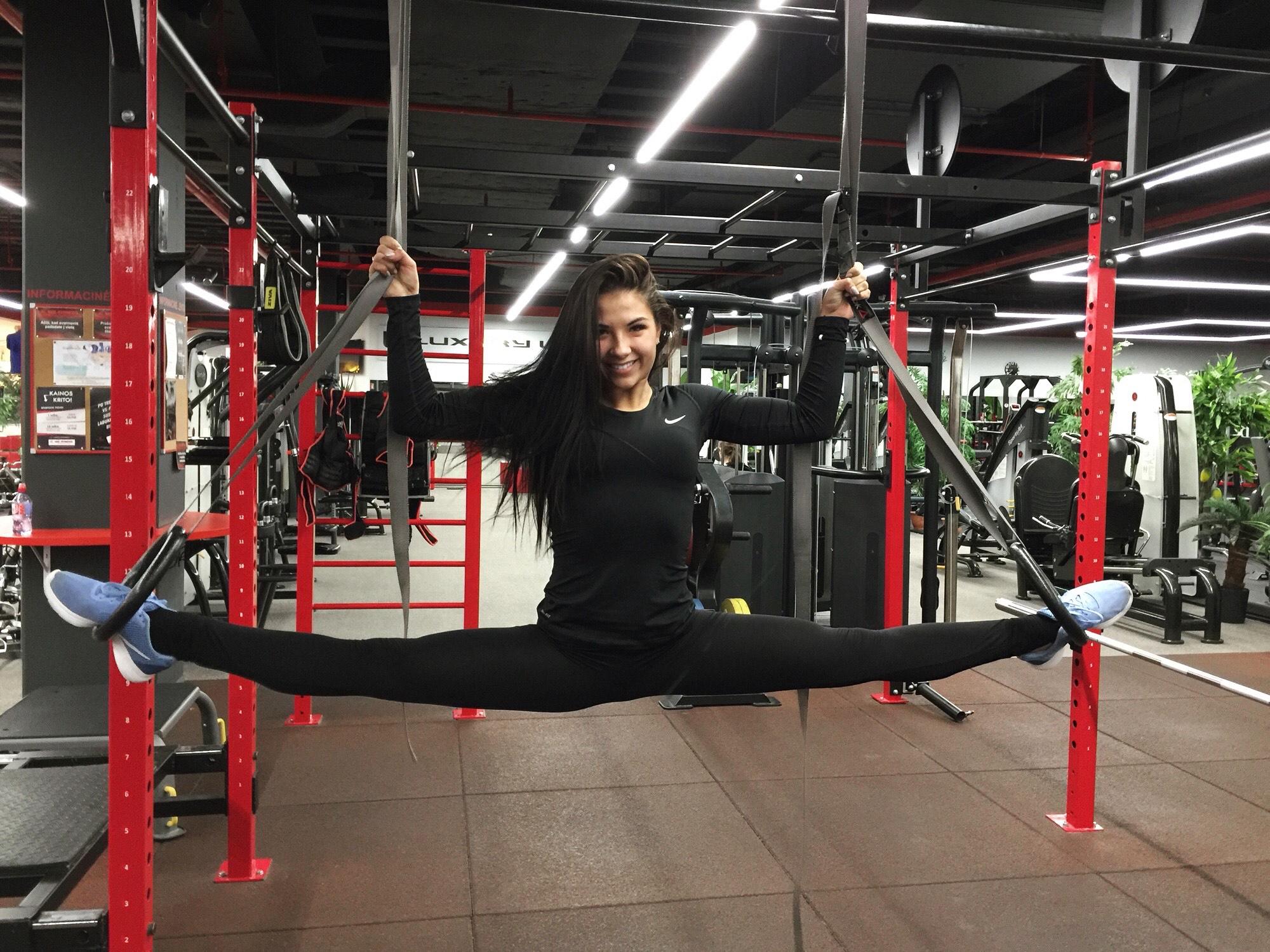Menines gimnastika Greta Švaikaitė